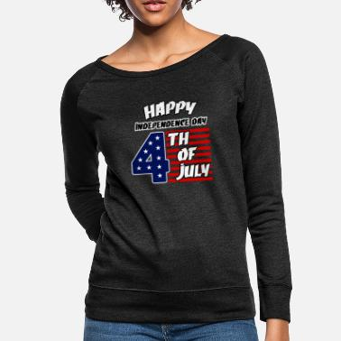 Th Of July Independence Day 4 th of july - Women's Crewneck Sweatshirt