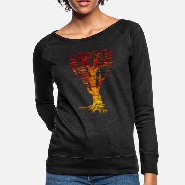 Tree The Tree of Trees - Women's Crewneck Sweatshirt