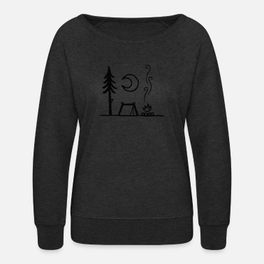 Atmosphere The atmosphere of the camper - Women's Crewneck Sweatshirt