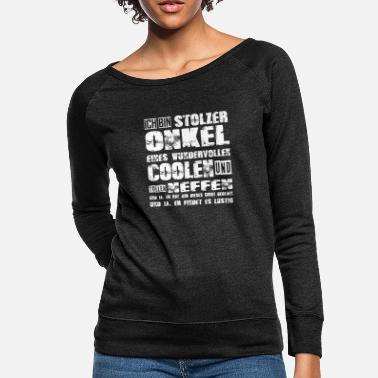Ja proud uncle of a cool and great nephew - Women's Crewneck Sweatshirt