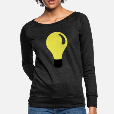 light bulb - Women's Crewneck Sweatshirt