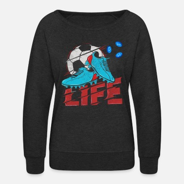 World-cup Football Life world cup - Women's Crewneck Sweatshirt