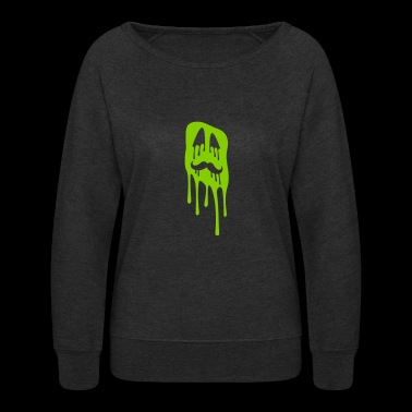 Ugly slime face - Women's Crewneck Sweatshirt