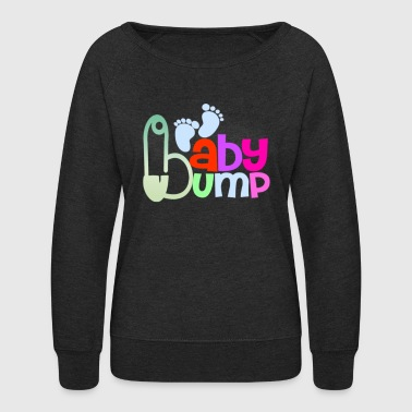 Baby bump - Women's Crewneck Sweatshirt