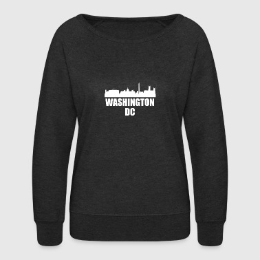 Washington DC DC Skyline - Women's Crewneck Sweatshirt