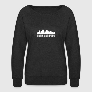 Overland Park Kansas City Skyline - Women's Crewneck Sweatshirt