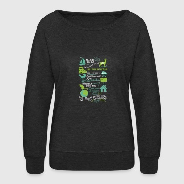 teach - Women's Crewneck Sweatshirt
