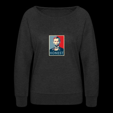 Honest Abe - Women's Crewneck Sweatshirt