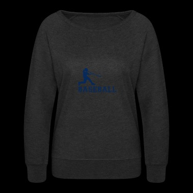 Baseball Player - Women's Crewneck Sweatshirt