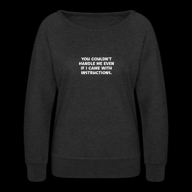 Instructions - Women's Crewneck Sweatshirt