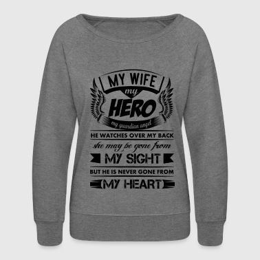 My Hero My Wife - Women's Crewneck Sweatshirt
