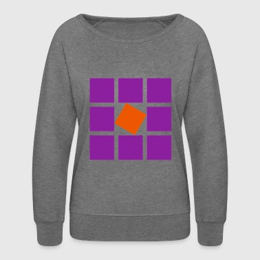 square - Women's Crewneck Sweatshirt