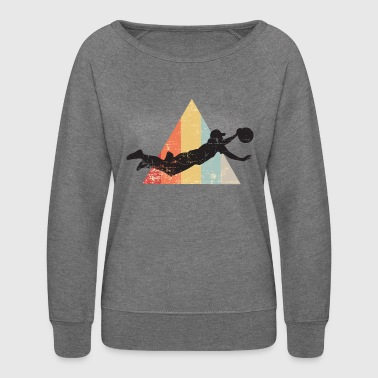 Ultimate Frisbee Layout - Women's Crewneck Sweatshirt
