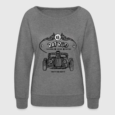 Rat Rod - Hot Rod - Women's Crewneck Sweatshirt