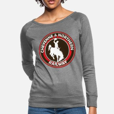 C&n railway - Women's Crewneck Sweatshirt