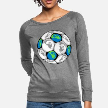Soccer Ball World Soccer Ball - Women's Crewneck Sweatshirt
