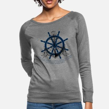 Fine SAILING - THE FINE ART - Women's Crewneck Sweatshirt