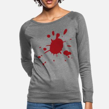 Splatter Blood splatter - Women's Crewneck Sweatshirt