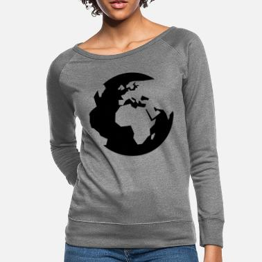 Global global - Women's Crewneck Sweatshirt