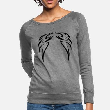 Decoration tattoo wings - Women's Crewneck Sweatshirt