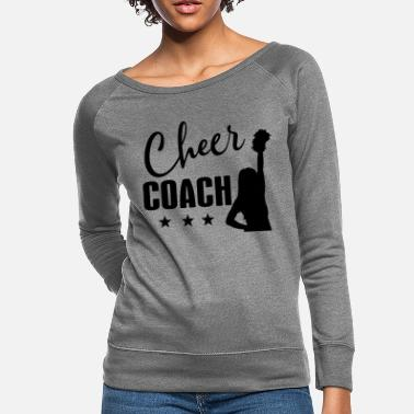 Cheer Cheer Coach Cheerleading - Women's Crewneck Sweatshirt