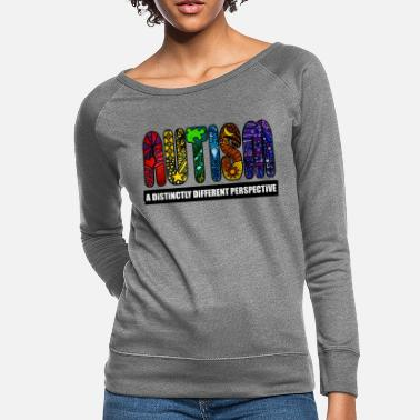 Different BEST Autism Design - Women's Crewneck Sweatshirt