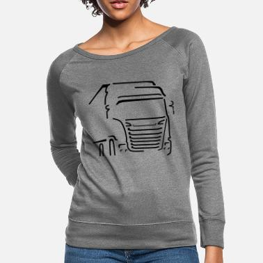Vehicle Transport Vehicle - Women's Crewneck Sweatshirt