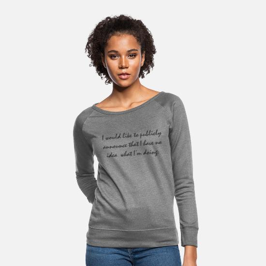 Birthday Hoodies & Sweatshirts - Public Announcement - Women's Crewneck Sweatshirt heather gray