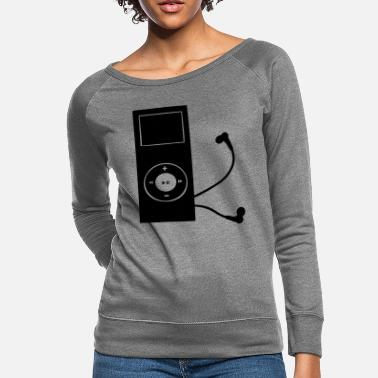 Mp3 mp3 player - Women's Crewneck Sweatshirt