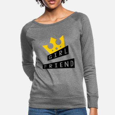 Romantic Joke Darling Girlfriend - Love - Women's Crewneck Sweatshirt