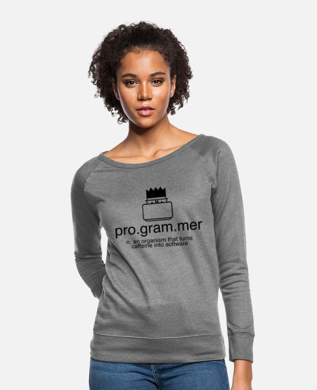 Programmemer Hoodies & Sweatshirts - We are pro programmer - Women's Crewneck Sweatshirt heather gray
