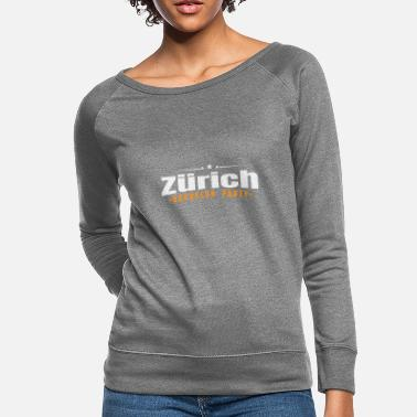 Game Over Bachelor Party Shirt Zürich Pre Wedding - Women's Crewneck Sweatshirt