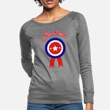 American Icon July 4th American Icon - Women's Crewneck Sweatshirt