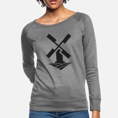 Windmill windmill - Women's Crewneck Sweatshirt
