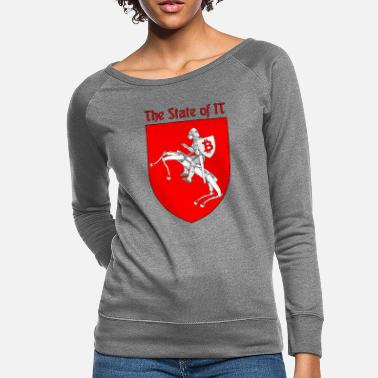 State The State of IT - Women's Crewneck Sweatshirt