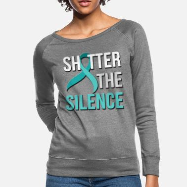 Assault April is Sexual Assault Awareness - Women's Crewneck Sweatshirt