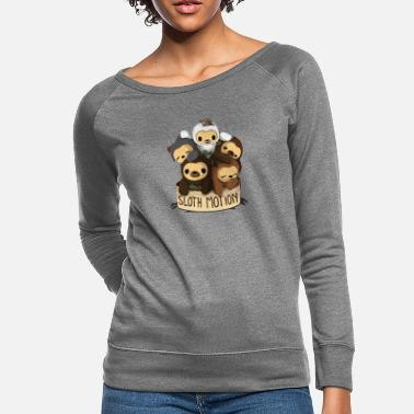 Motion SLOTH MOTION - Women's Crewneck Sweatshirt