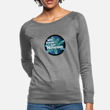 Aggressive Aggressive Natural - Women's Crewneck Sweatshirt
