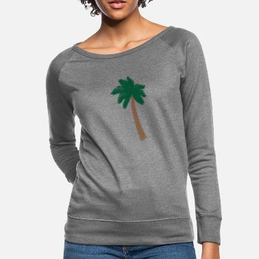 Palm Trees Palm Tree - Women's Crewneck Sweatshirt