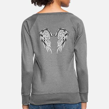 Angel's Wings Angel Wings - Women's Crewneck Sweatshirt