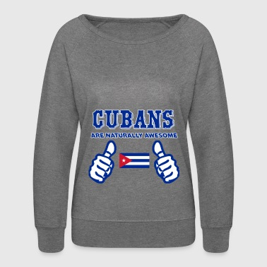 CUBAN design - Women's Crewneck Sweatshirt
