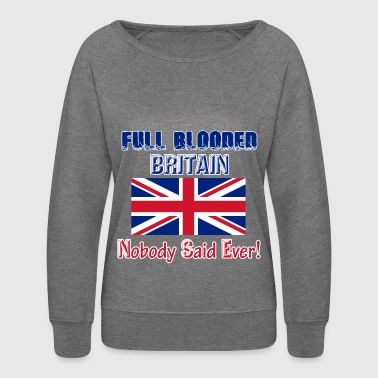 britain - Women's Crewneck Sweatshirt