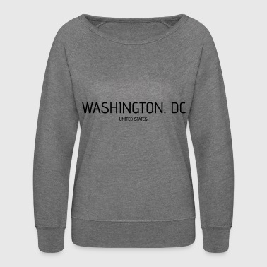 Washington DC - Women's Crewneck Sweatshirt