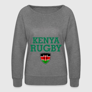 kenya design - Women's Crewneck Sweatshirt