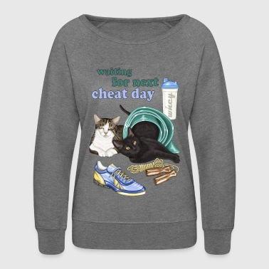 Fit cats - Women's Crewneck Sweatshirt