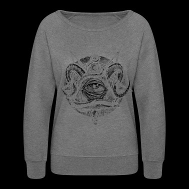 The Devil's eye - Women's Crewneck Sweatshirt