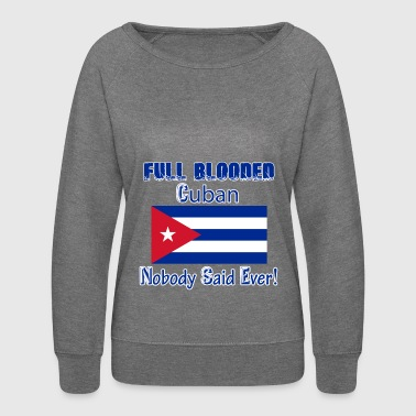 Cuban designs - Women's Crewneck Sweatshirt