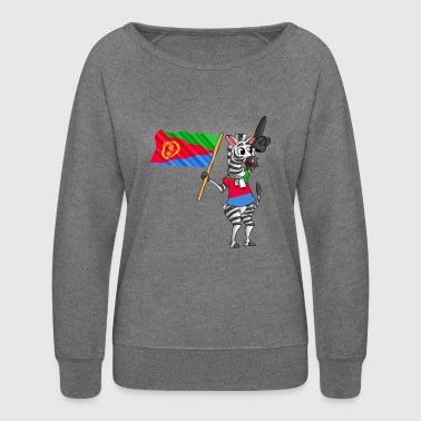 An Eritrean Zebra - Women's Crewneck Sweatshirt