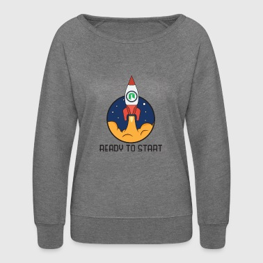 ready to start neo - Women's Crewneck Sweatshirt