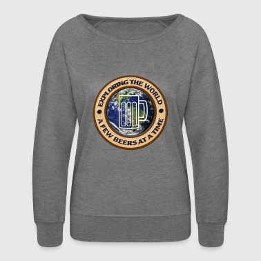 Beer around the world - Women's Crewneck Sweatshirt